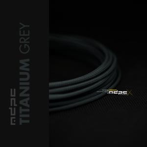 MDPC-X Gris Titanio 1m grosor de 1,7-7,8mm – Funda de cable