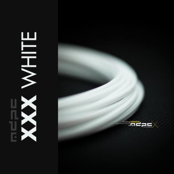 MDPC-X Blanco 1m grosor de 1,7-7,8mm – Funda de cable