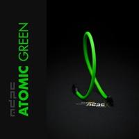 MDPC-X Verde Atómico UV 1m – Funda de cable SATA