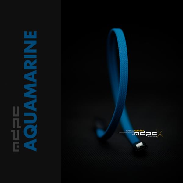 MDPC-X Azul Agua MK2 1m – Funda de cable SATA