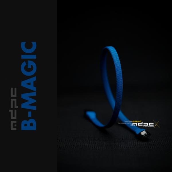 MDPC-X Azul Mágico 1m – Funda de cable SATA