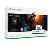 Xbox One S 1TB + Shadow of the Tomb Raider - Consola