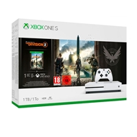 Xbox One S 1TB + Tom Clancy's The Division 2 - Consola