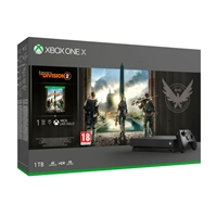 Xbox One X 1TB + Tom Clancy's The Division 2 - Consola