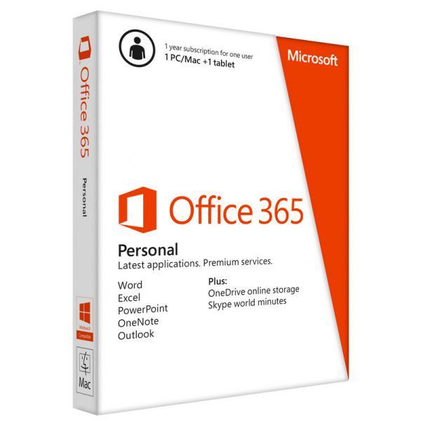 Microsoft Office 365 Personal 1 año Licencia Digital – Suite