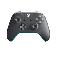 Microsoft Xbox Mando inalámbrico Gris/Azul - Gamepad