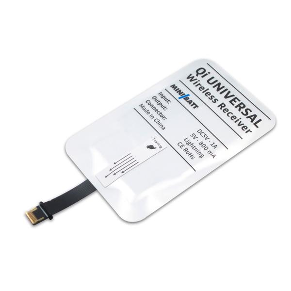 Minibatt Tarjeta para carga inalambrica USB - Accesorio