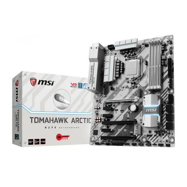 MSI H270 Tomahawk Arctic – Placa Base