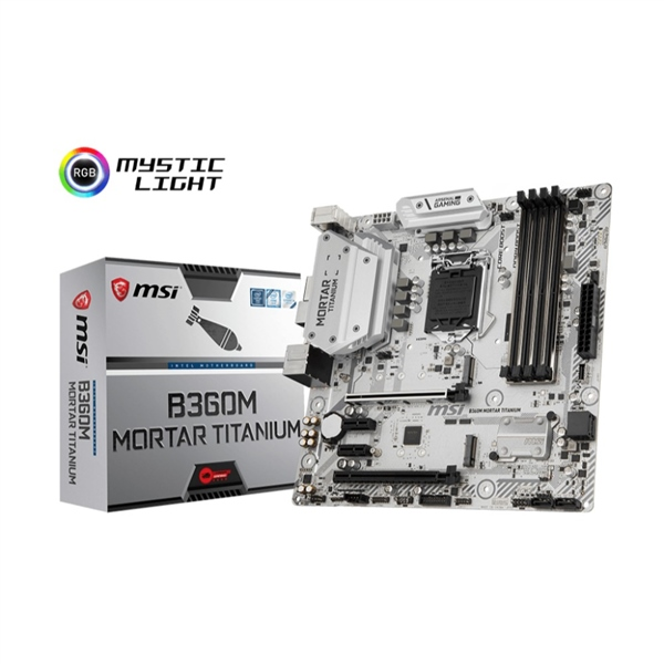 MSI B360M Mortar Titanium – Placa Base