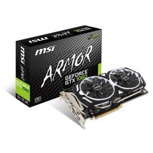 MSI Nvidia GeForce GTX1060 Armor OCV1 3GB – Gráfica
