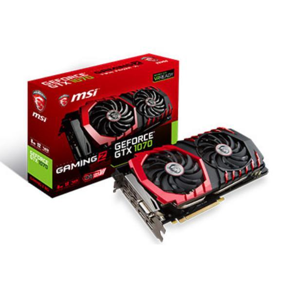 MSI Nvidia GeForce GTX1070 Gaming Z 8GB – Gráfica