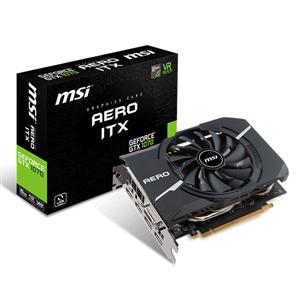 MSI Nvidia GeForce GTX 1070 Aero ITX 8G OC – Gráfica