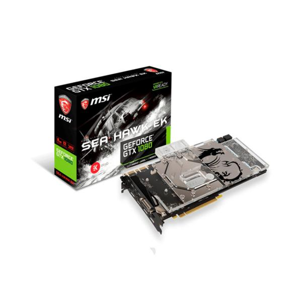 MSI Nvidia GeForce GTX1080 Sea Hawk EK X 8GB – Gráfica