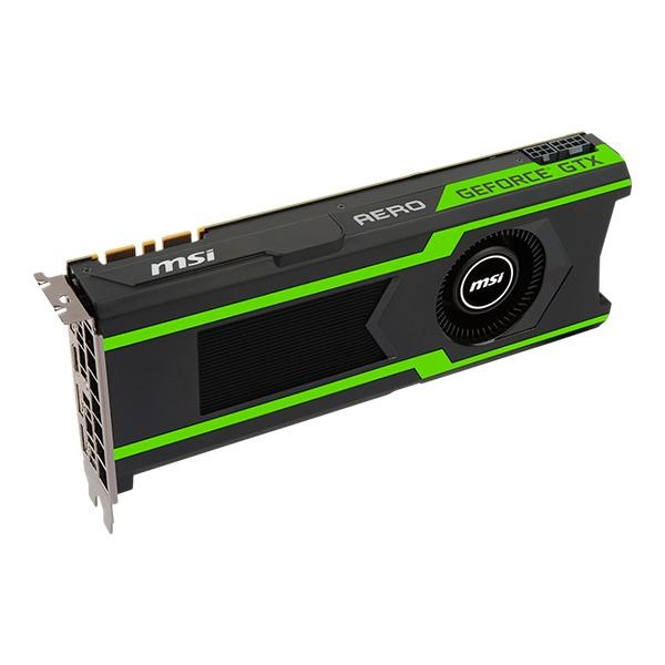 MSI NVIDIA GeForce GTX1080 Ti Aero OC 11GB – Gráfica