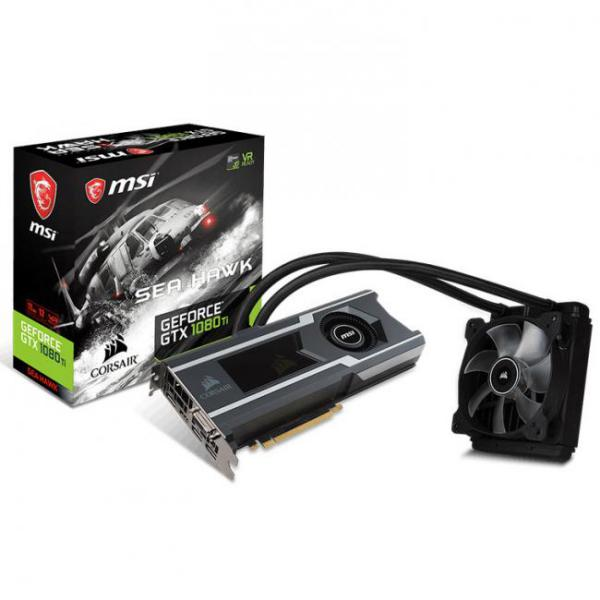 MSI GTX1080 TI Sea Hawk X 11GB – Gráfica
