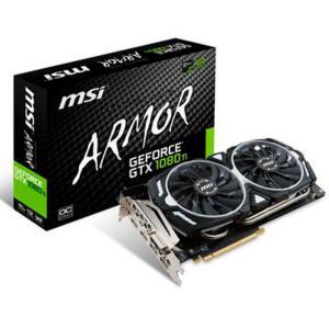 MSI Nvidia GeForce GTX1080 Ti Armor OC 11GB – Gráfica