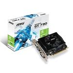 MSI Nvidia GeForce GT 730 2GB GDDR3 - Gráfica
