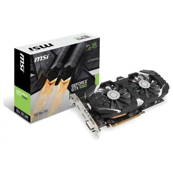 MSI NVIDIA GeForce GTX1060 6GT OCV1 6GB – Gráfica