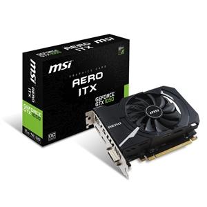 MSI Nvidia GeForce GTX 1050 AERO ITX OCV1 2GB – Gráfica