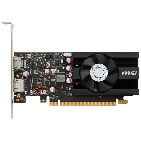 MSI Nvidia GeForce GT 1030 LP OC 2GB – Gráfica