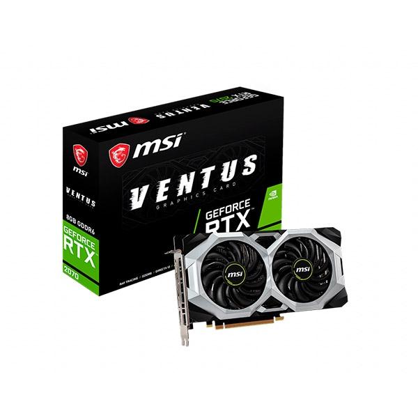 MSI Nvidia GeForce RTX 2070 Ventus 8GB - Gráfica