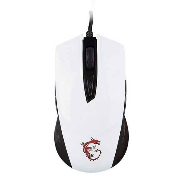 MSI Clutch GM40 dpi5000 Blanco – Ratón