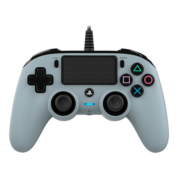 Nacon PS4 oficial gris wired – Gamepad