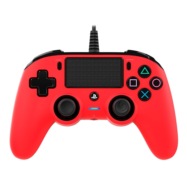 Nacon PS4 oficial rojo wired – Gamepad
