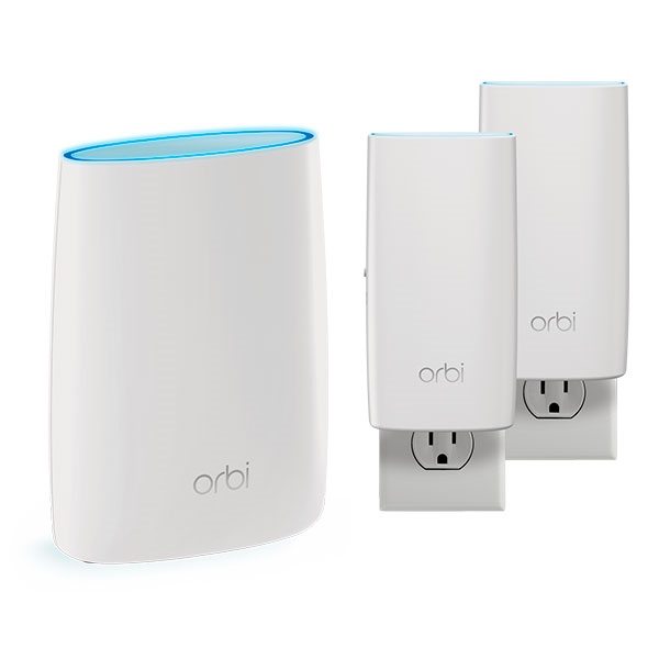 Netgear Orbi AC3000 Kit router + 2 satellites – AP