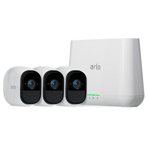 Netgear Arlo Pro Kit 3 camaras + sirena – Cámaras IP