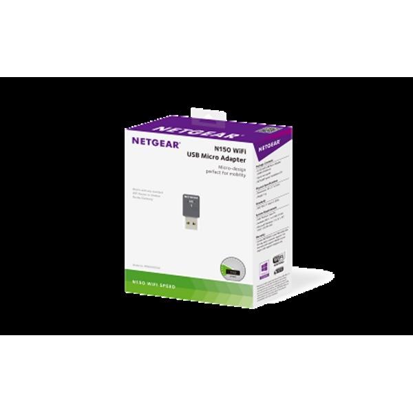 Netgear WNA1000M Wifi N 150MBps  NANO –  Adaptador USB WIFI