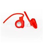Nilox Drops Rojos Bluetooth 4.0 – Auriculares Inalámbricos