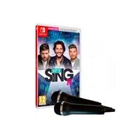 Nintendo Switch Let's Sing 11 + 2 micrófonos - Juego