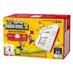 Nintendo 2DS Roja/Blanca + New Super Mario Bros 2 – Consola