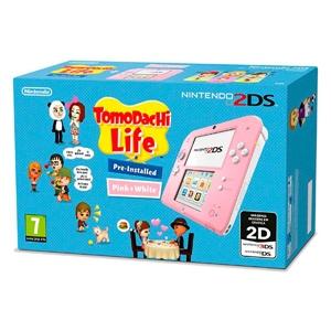 Nintendo 2DS Rosa + Tomodachi Life – Consola