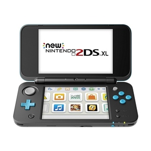 Nintendo New 2DS XL Negra/Turquesa – Consola