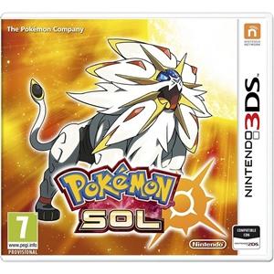 Nintendo 3DS Pokémon Sol – Videojuego