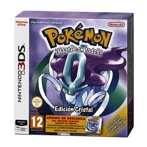 Nintendo 3DS Pokémon Edición Cristal – Videojuego