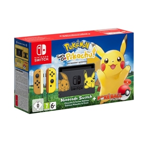 Nintendo Switch edición Let's Go Pikachu! + Pokéball Plus