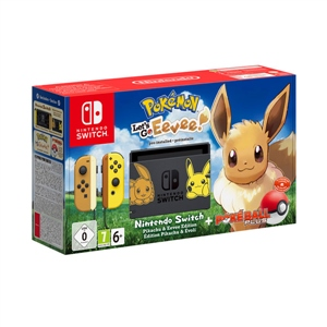 Nintendo Switch edición Let's Go Eeeve! + Pokéball Plus