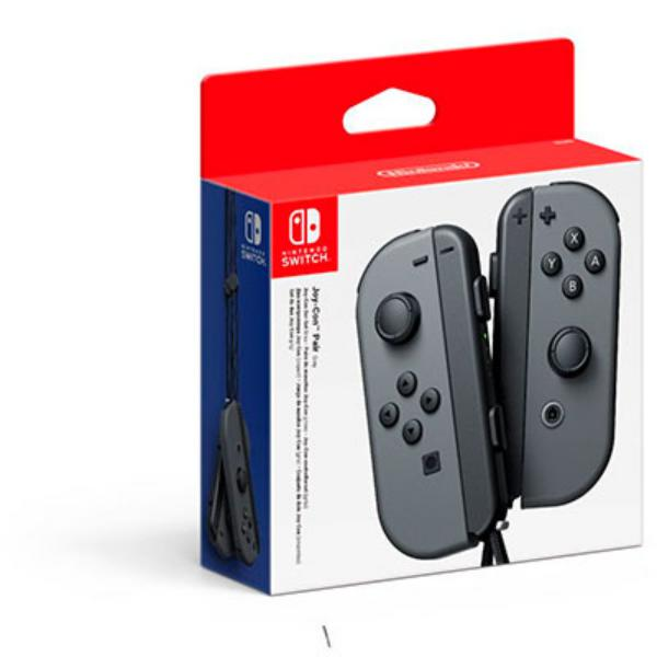 Nintendo Pack Joy-Con Izquierdo + Derecho Gris – Accesorio