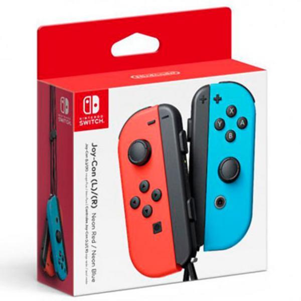 Nintendo Switch Joy-Con pack 2 rojo neón/azul – Accesorio