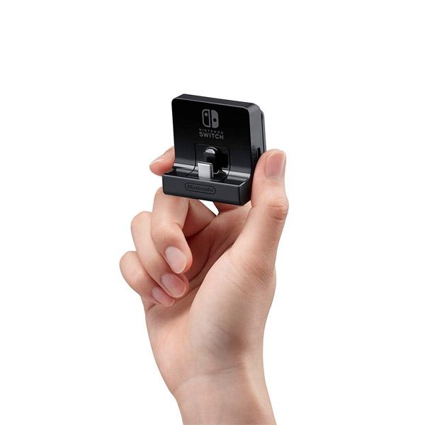 Soporte ajustable de carga para la consola Nintendo Switch