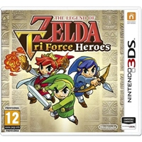 Nintendo 3DS The Legend of Zelda Tri Force Heroes – Juego