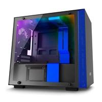 NZXT H200i con ventana negra / azul - Caja
