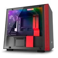 NZXT H200i con ventana negra / rojo - Caja