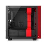NZXT H400i con ventana negra / roja - Caja