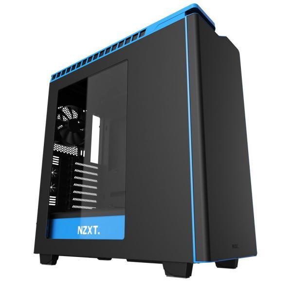 NZXT SemiTorre H440 negro/azul Window – Caja