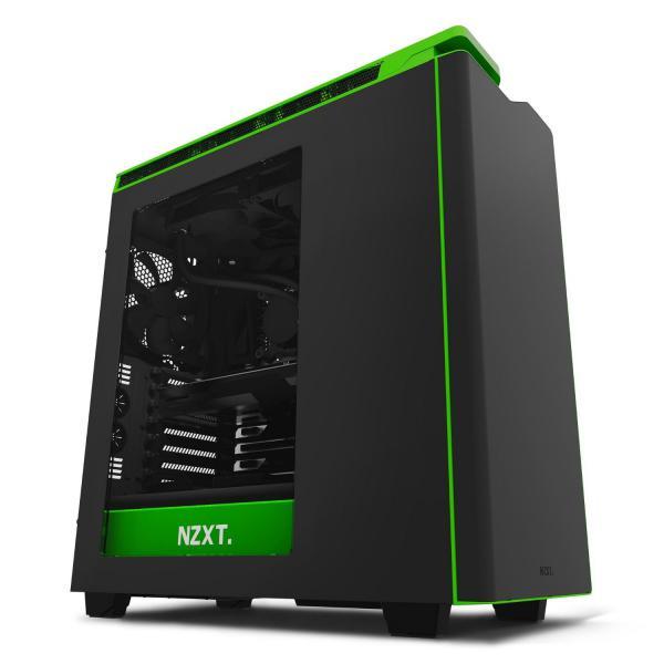 NZXT H440 negro/verde -Caja