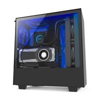 NZXT H500i con ventana negra / azul - Caja